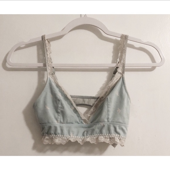Forever 21 Intimates Amp Sleepwear Baby Blue Dove Laced